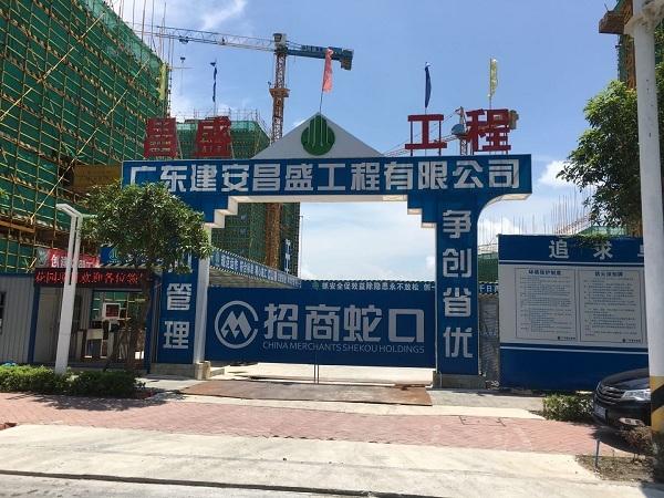 招商局雍华府花园白蚁预防工程施工
