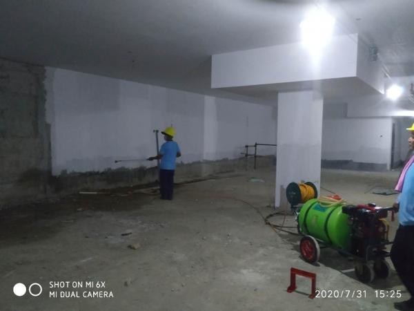 珠海金湾某新建单位白蚁防治工程