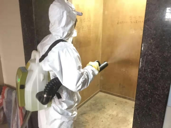 肺炎疫情时期,珠海创卫公司的环境消毒灭菌事业一直在践行