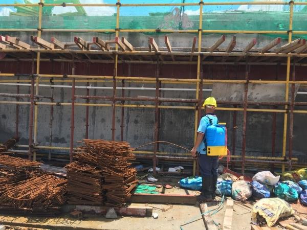 珠海市某新建工地白蚁防治